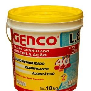 GENCO L.E. CLORO GRANULADO Múltipla Ação